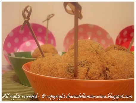 Crocchette di Riso ai Funghi