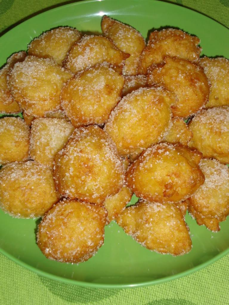Frittelle di Riso per Carnevale