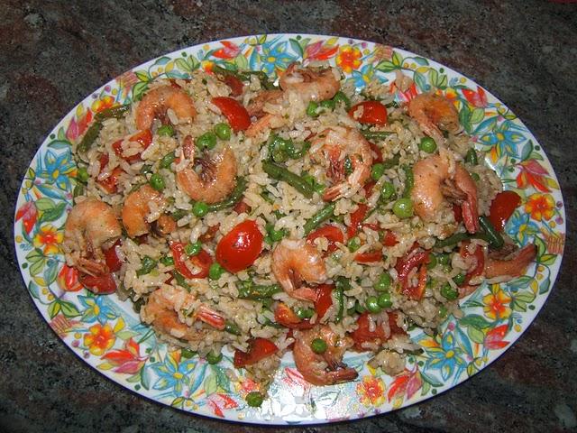 Insalata di riso arcobaleno (cucinata con il Bimby)