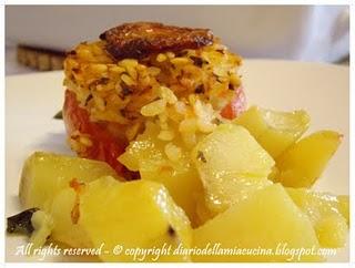 Riso, pomodori e patate