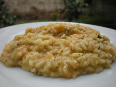 Risotto alla Zucca e Pesto Genovese